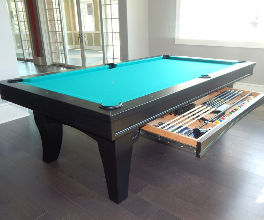 Chicago Pool Table Room Setting Drawer | everythingbilliards.net
