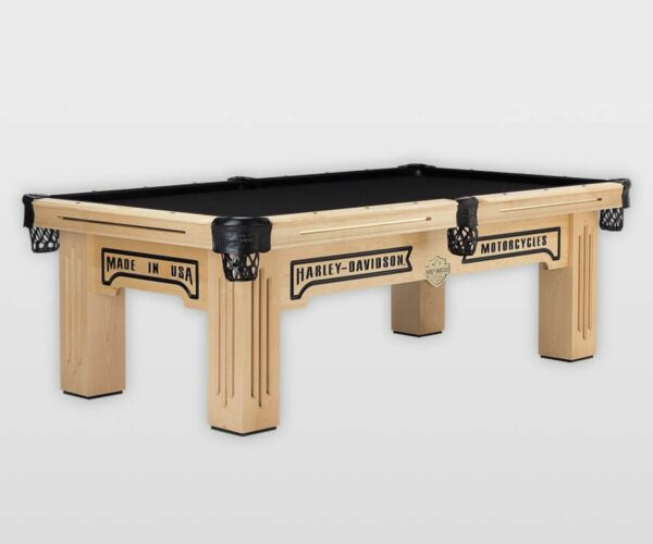 Licensed Table Series Harley Davidson Maple Product Shot