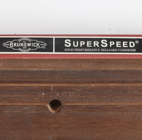 Brunswick Pool Table Superspeed Cushion Rubber | everythingbilliards.net